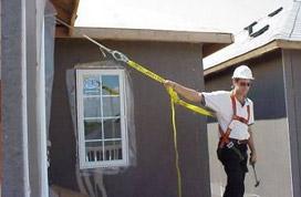 fall protection, construction strap anchor